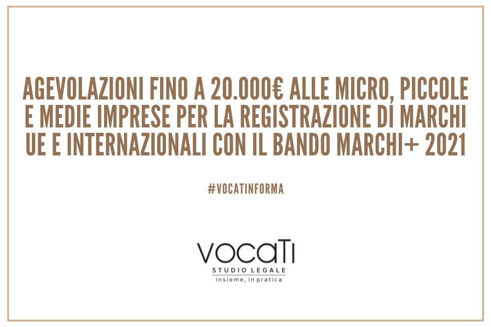 Bando Marchi+ 2021